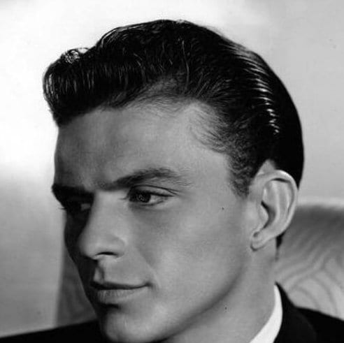 frank sinatra 1930s mens hairstyles