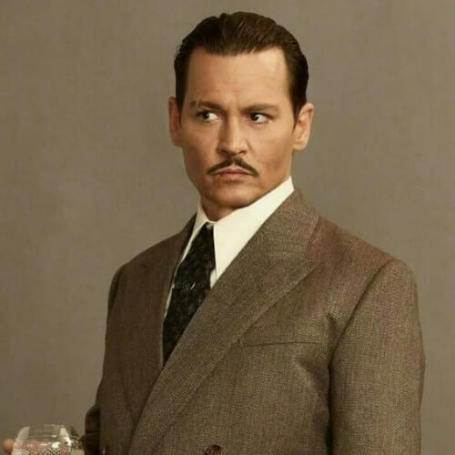 johnny depp orient express 1930s mens hairstyles