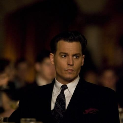 johnny depp public enemies 1930s mens hairstyles