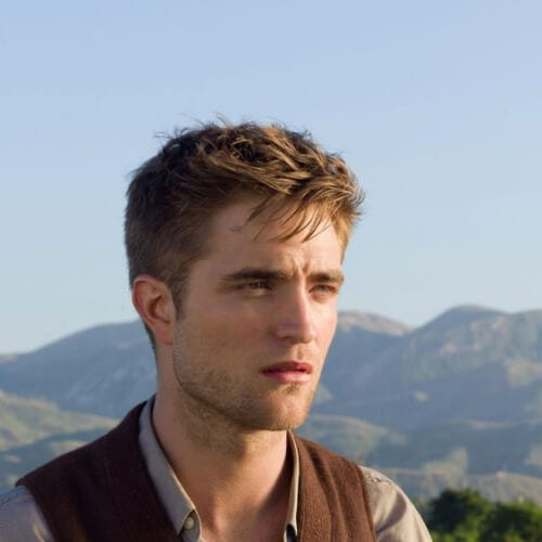 robert pattinson Water For Elephants 1930s mens hairstyles
