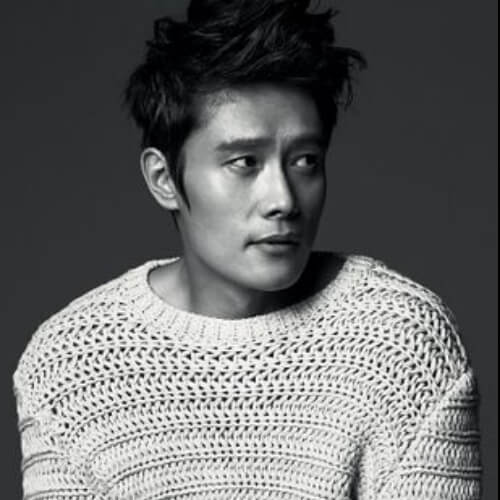 Lee Byung-hun korean men haircut