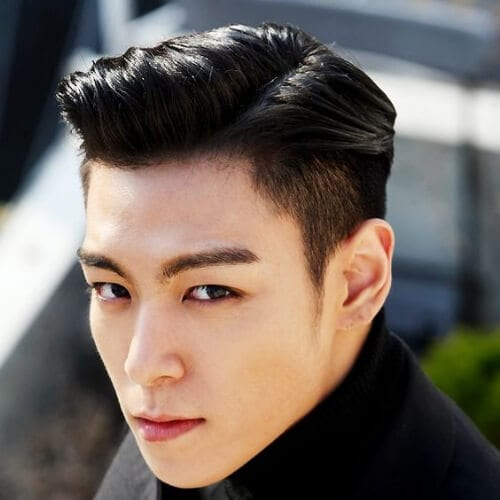 big bang t.o.p. korean men haircut