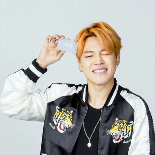 burnt orange korean men haircut