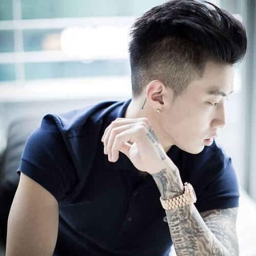 disconnect korean men haircut