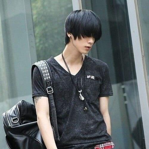 won jong jin korean men haircut