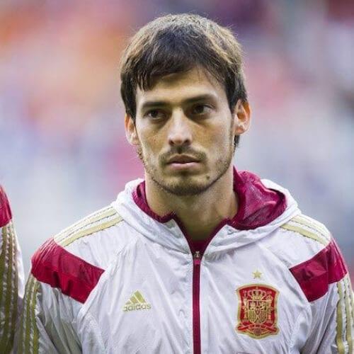 David Silva soccer player haircuts