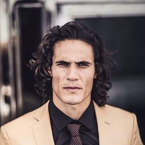Edinson Cavani soccer player haircuts