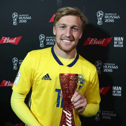 Emil Forsberg soccer player haircuts