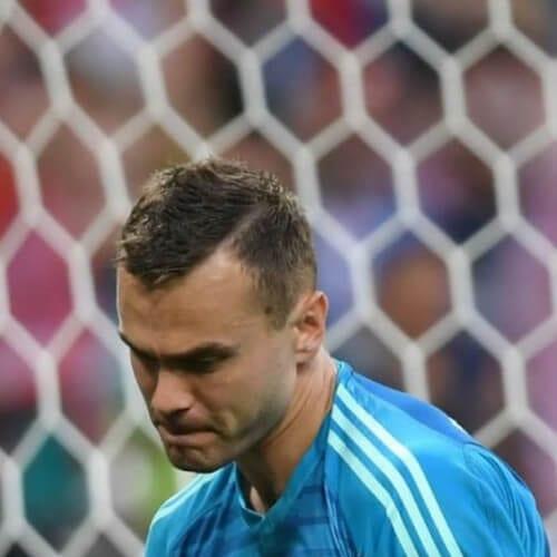 Igor Akinfeev soccer player haircuts