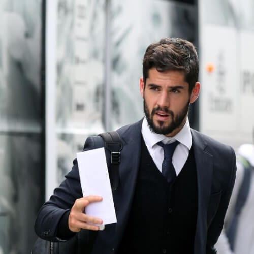 Isco soccer player haircuts
