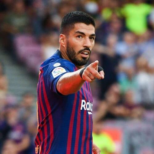 Luis Suarez soccer player haircuts