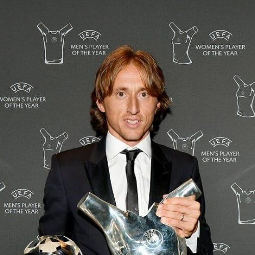 Luka Modric soccer player haircuts