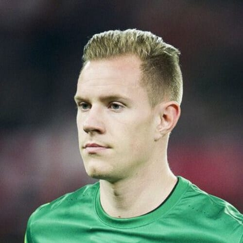 Marc-Andre Ter Stegen soccer player haircuts