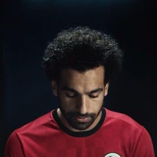 Mohamed Salah soccer player haircuts