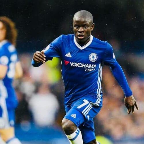 N'Golo Kante soccer player haircuts