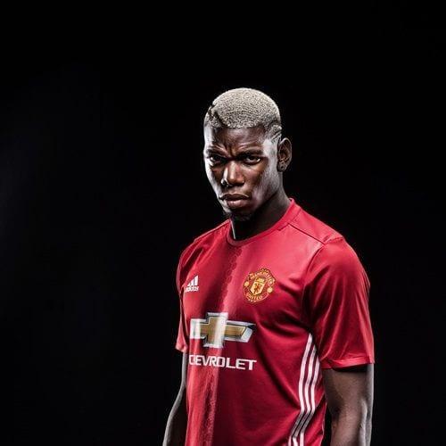Paul Pogba soccer player haircuts