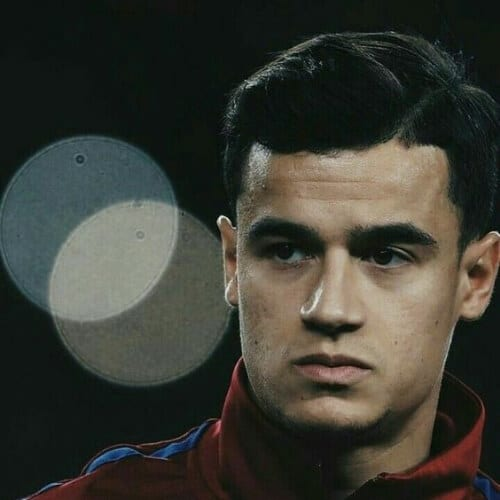 Philippe Coutinho soccer player haircuts