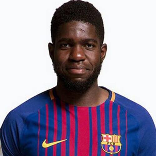 Samuel Umtiti soccer player haircuts
