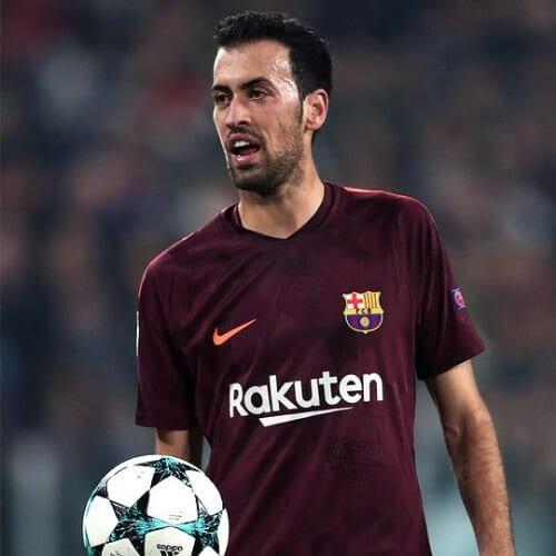 Sergio Busquets soccer player haircuts