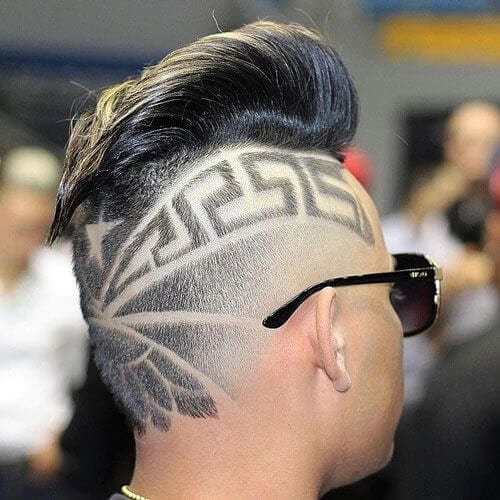 Undercut hair designs for men