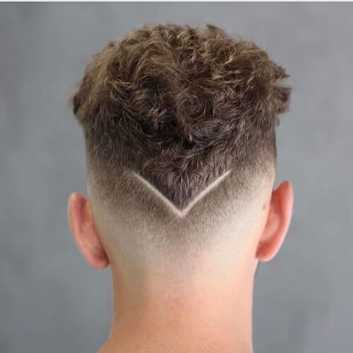 minimal hair designs for men