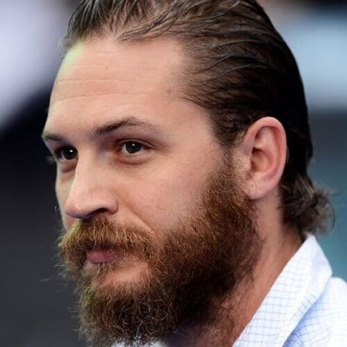 bushy tom hardy beard