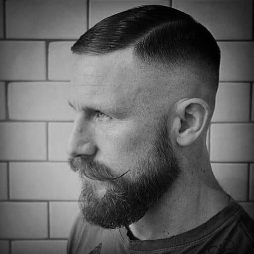 dapper high fade haircut