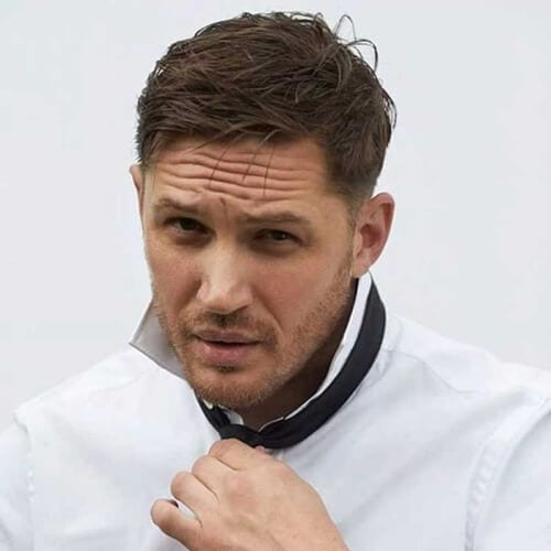 tom hardy designer stubble