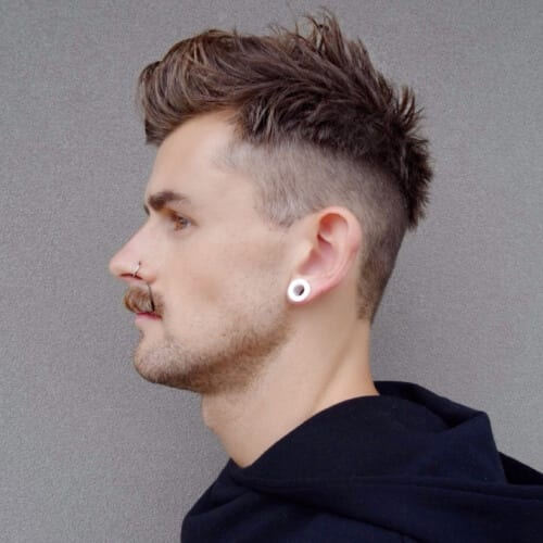 disconnected undercut high fade haircut
