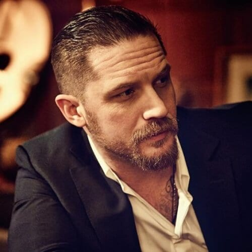 short tom hardy beard and goatee