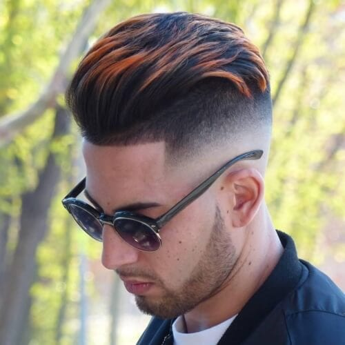 highlights high fade haircut