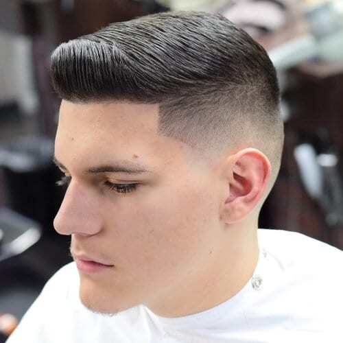 quiff high fade haircut