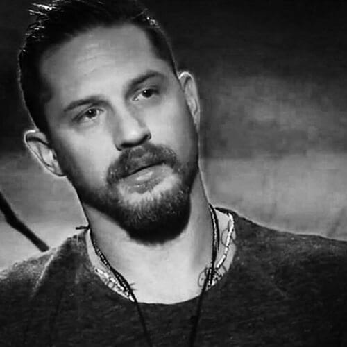 tom hardy rounded ducktail