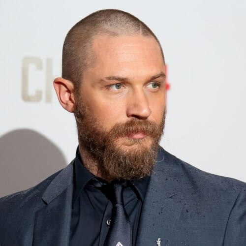 shaggy tom hardy beard