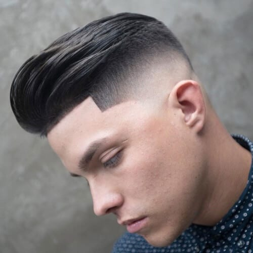 smooth high fade haircut