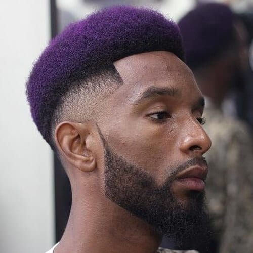 two tone high fade haircut