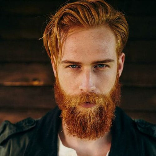 ginger man with fabulous beard - beard styles