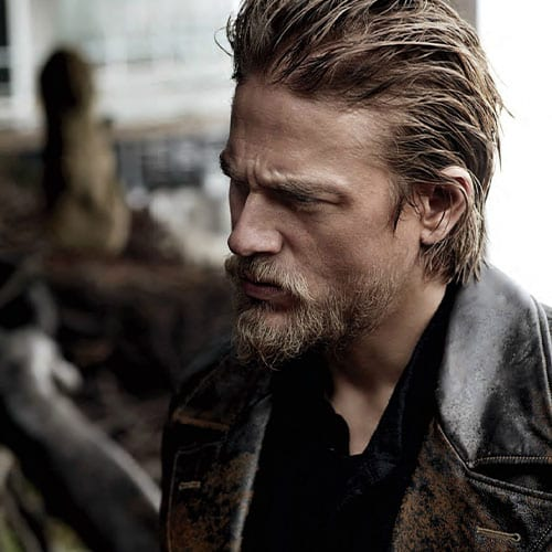 charlie hunnam slick beard and haircut