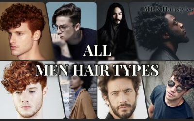Guide: Absolutely All Men Hair Types (Video + Examples)