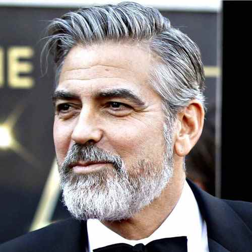 george clooney beard - beard styles