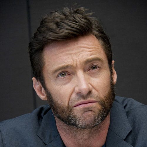 hugh jackman with mutton chops - beard styles