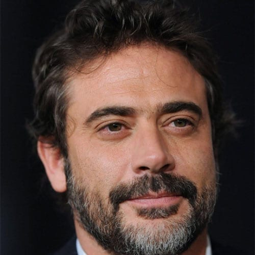 jeffrey dean morgan with medium beard - beard styles
