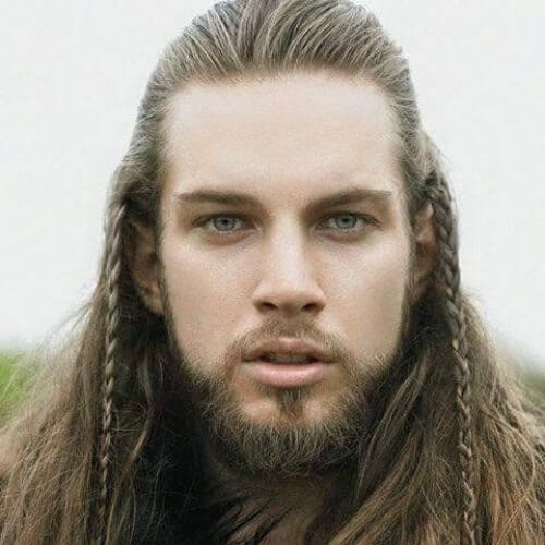 viking hairstyle with braids