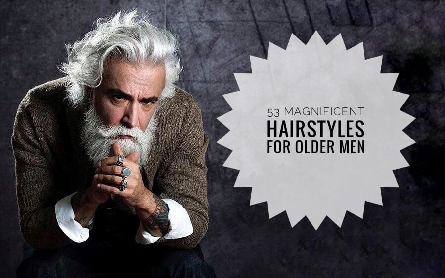 63d0194fab 53 Magnificent Hairstyles for Older Men - Men Hairstyles World
