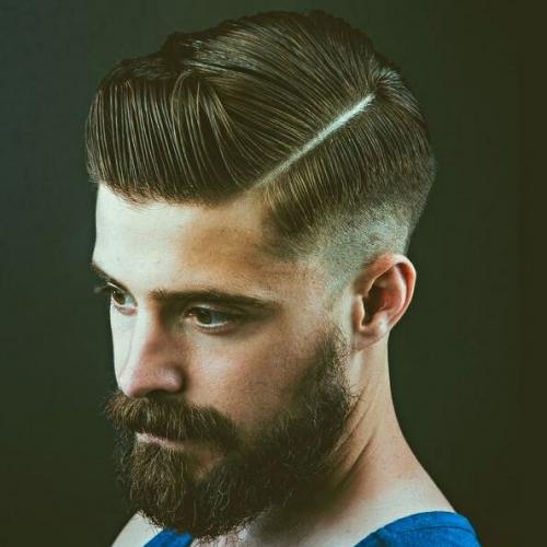 Layered Fade Hairstyle