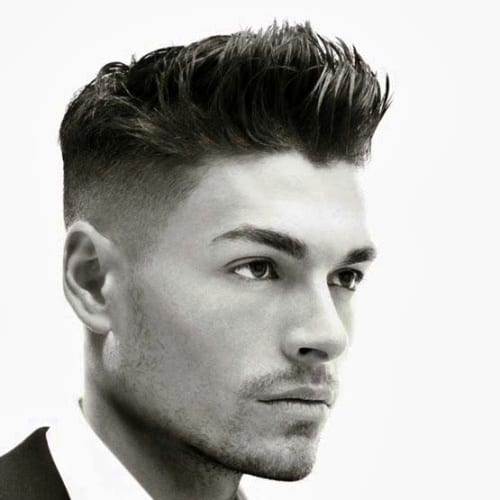 Pomp Low Fade hairstyle