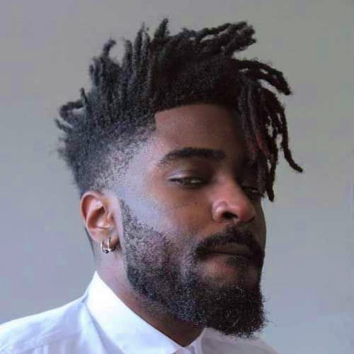 dreads fade hairstyle