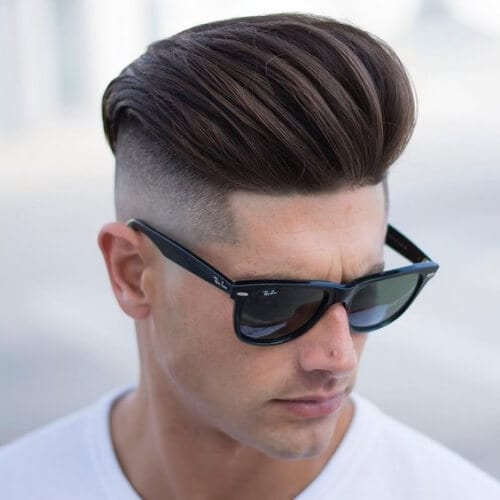quiff disconnected undercut