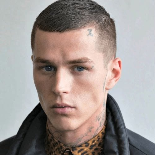 the classic crew cut hairstyle for men