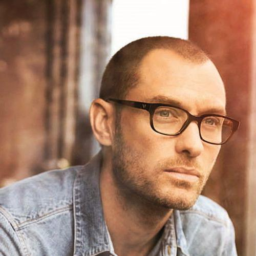 jude law buzz cut